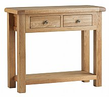 Vale Furnishers - Dorking Console Table